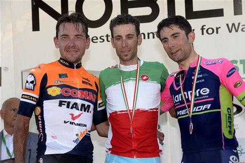 Vincenzo Nibali show: è di nuovo campione d'Italia! [video]