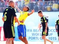 Brasile-Spagna beach soccer