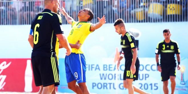 Mondiali di Beach soccer: adios Spagna, Tahiti doma la Russia. Ecco i quarti