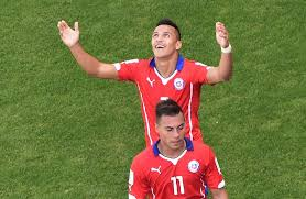 Edu Vargas e Alexis Sanchez
