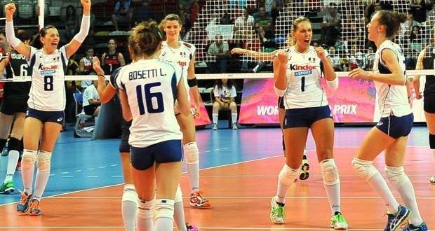 Grand Prix, quanto sei bella Italia: convincente 3-0 alla Turchia