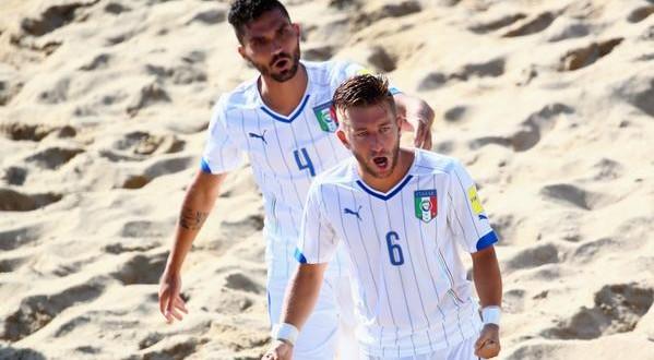 Mondiali beach soccer, l'Italia fa filotto: battuta anche la Svizzera