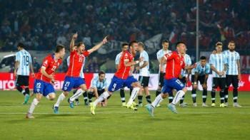 La corsa del Cile dopo il rigore di Sanchez