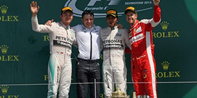 Formula 1, GP Gran Bretagna: ordine d'arrivo e classifiche Mondiali
