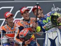 Podio Sachsenring Moto GP