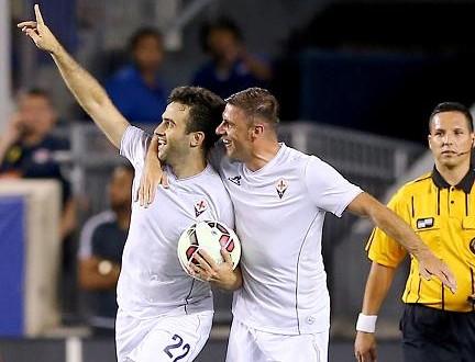 Amichevoli: Fiorentina perde ma c'è Pepito; ko Bologna e Hellas