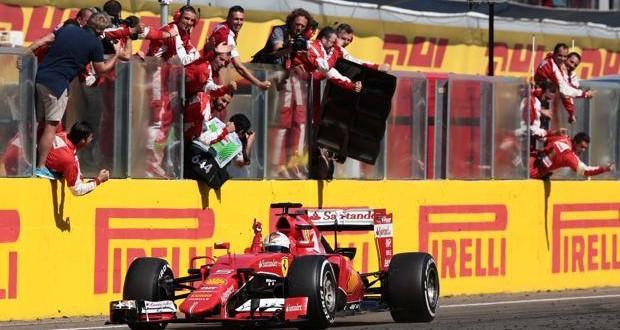 GP Ungheria, Ferrari che miracolo! Trionfa Vettel, Hamilton solo 6°