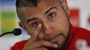 Vidal in lacrime