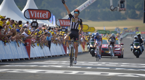 Tour de France, Cummings beffa i francesi