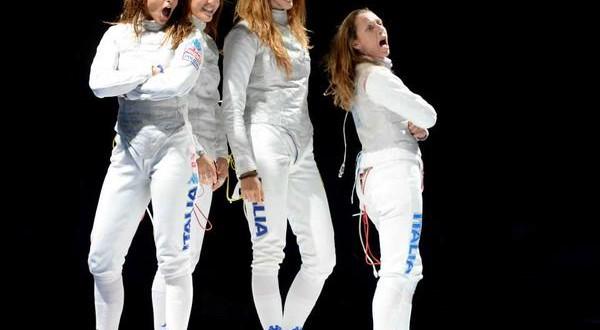Mosca 2015, è Dream Team fioretto: due medaglie d'oro!