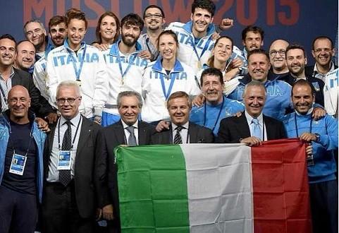 Mosca 2015, bilancio azzurro e medagliere finale