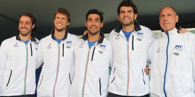 Coppa Davis, Italia nel World Group. Finale Belgio-Gran Bretagna