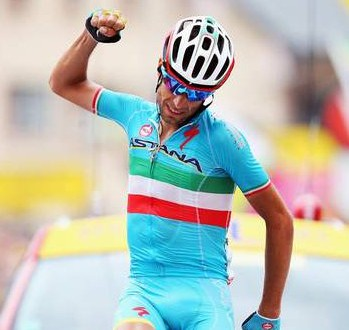 Vincenzo Nibali vince il Giglio d'Oro 2015