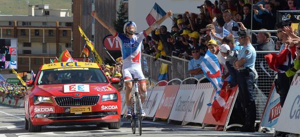 L'Alpe d'Huez incorona Pinot. Brivido Froome, ma il Tour de France '15 è suo!