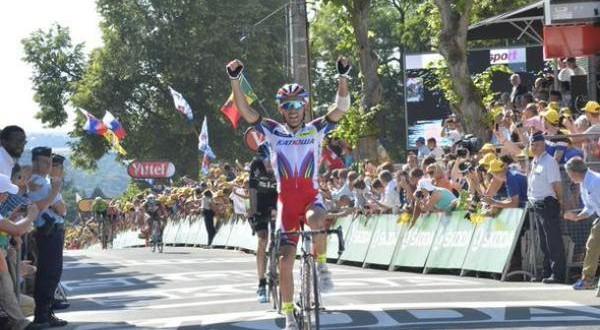 Tour de France: Rodriguez doma il muro di Huy, Froome in giallo