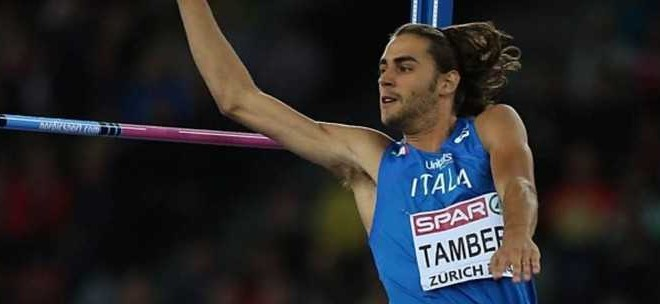 Atletica, Alto: nuovo record italiano di Gianmarco Tamberi
