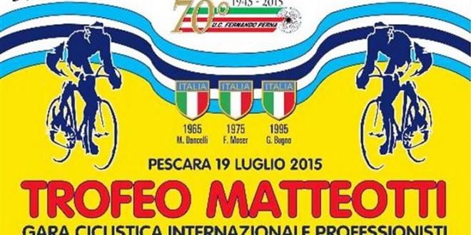 Presentazione Trofeo Matteotti 2015