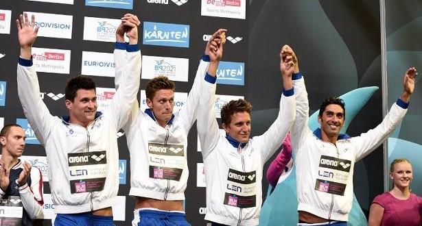 Kazan 2015: bronzo 4×100 uomini, donne al record nazionale
