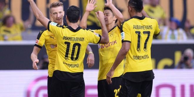 Bundesliga: subito manita-Bayern, poker Dortmund, Bayer di rimonta
