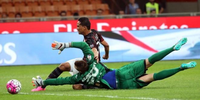 Serie A, anticipi: Sassuolo a punteggio pieno, Milan vittoria a metà
