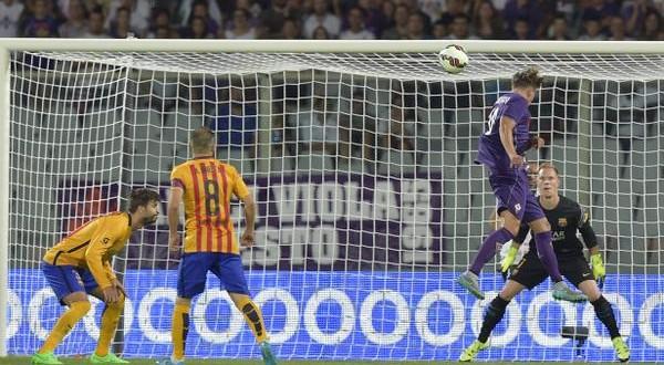 Amichevoli: Napoli e Inter ko; grande Fiorentina col Barca