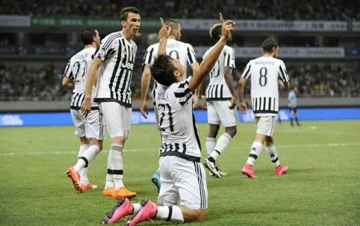 Mandzukic-Dybala e 2-0 alla Lazio: la Juve si prende la Supercoppa