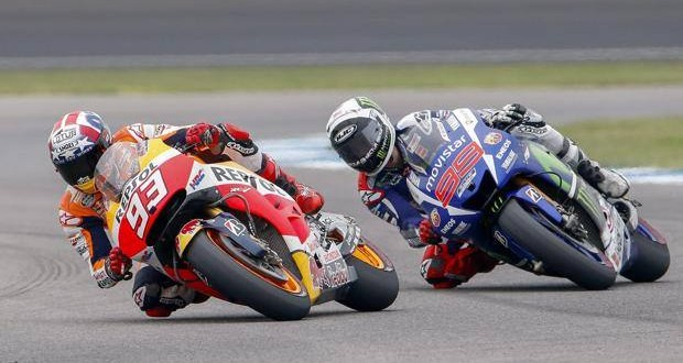 MotoGP Indy, ancora Marquez primo: podio completato da Lorenzo e Rossi