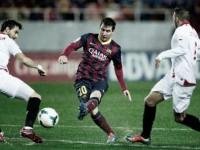 Messi contro il Siviglia