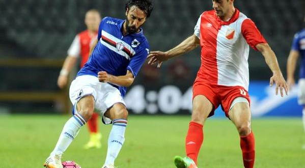 La Sampdoria salva solo l'onore: 2-0 a Novi Sad, addio Europa League
