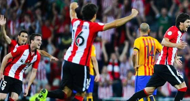 Supercoppa di Spagna: Bilbao verso l'impresa, ma il Barca crede nella remuntada