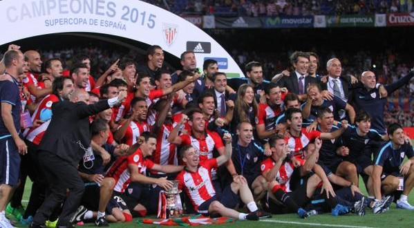 Resa Barcellona: Supercoppa di Spagna 2015 all'Athletic Bilbao