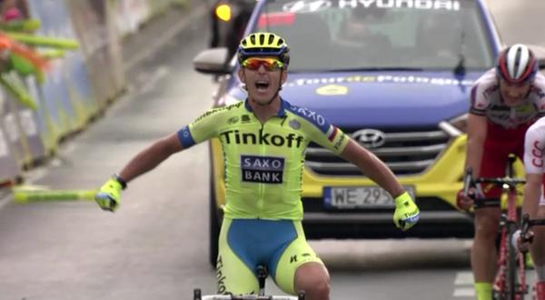 Giro di Polonia, la fuga premia Bodnar