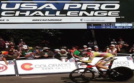 Usa Pro Challenge, Rohan Dennis mattatore: sua anche la crono