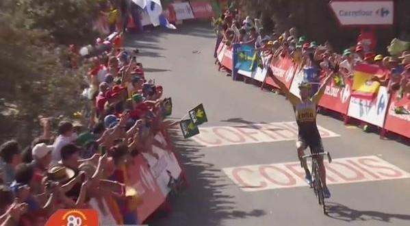 Vuelta 2015: Lindeman primo a La Alpujarra, Aru stacca i big