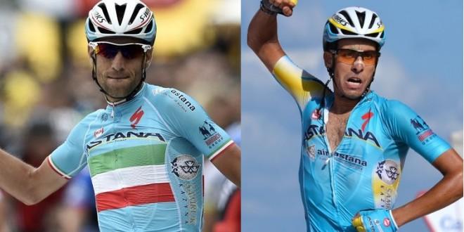 "Vuelta a España, Nibali e Aru determinati: ""Insieme per vincere"""