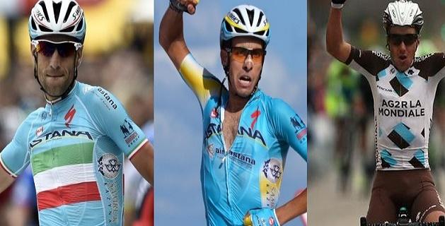 Vuelta a España 2015, tutti gli italiani al via