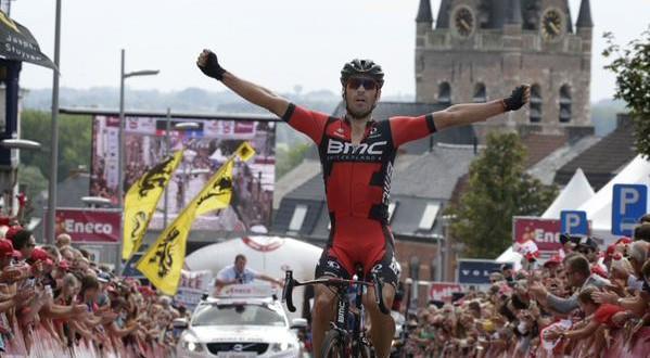 Quinziato festeggia al mini Fiandre, ma l'Eneco Tour 2015 è di Wellens