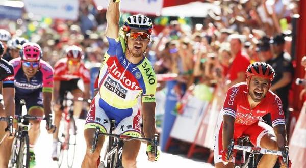 Vuelta 2015, Peter Sagan torna a gioire