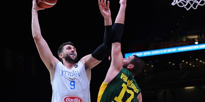EuroBasket: la Lituania vince 85-95; il sogno Italbasket s'infrange