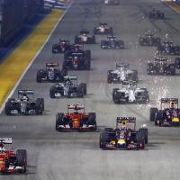 F1 GP Singapore, è capolavoro-Ferrari! Vettel 1°, Raikkonen 3°