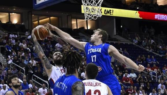 EuroBasket 2015: Serbia schiaccia Italia 101-82, ora testa a Lille