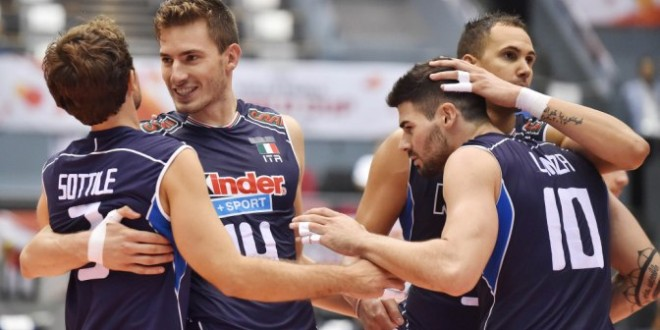 Coppa del Mondo volley maschile, l'Italia vince: 3-1 all'Egitto, ma che fatica
