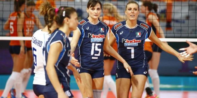 EuroVolley 2015, obiettivo quarti: alle 17 c'è Italia-Croazia