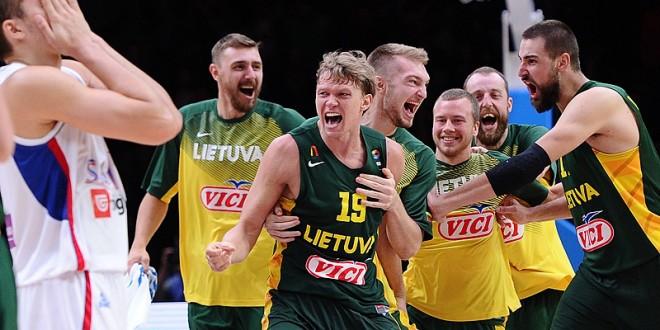 EuroBasket 2015: incredibile Lituania, Serbia k.o. 67-64!
