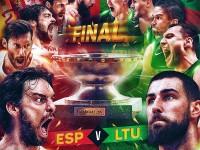 Spagna-Lituania finale EuroBasket 2015