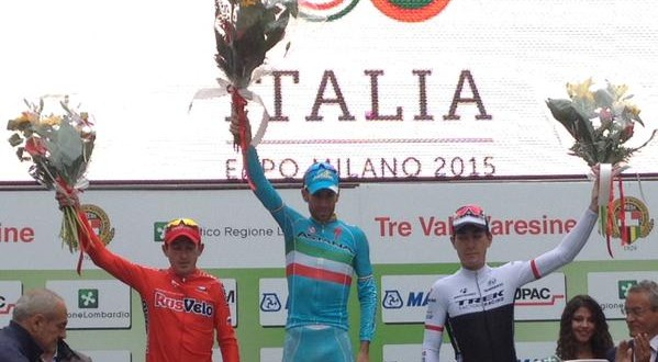 Vincenzo Nibali, è dominio al Trittico Lombardo: sua anche la Tre Valli Varesine 2015!