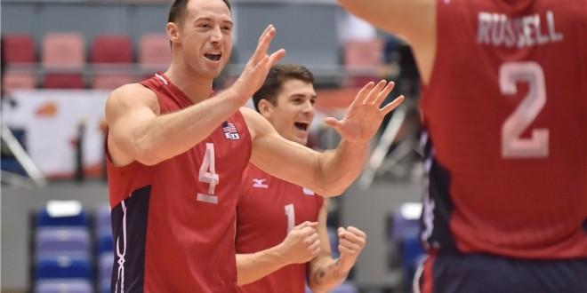 Coppa del Mondo volley maschile, 5ᴬ giornata: big in scioltezza