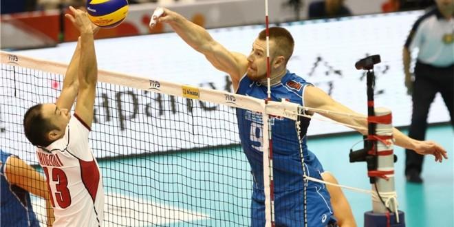 Coppa del Mondo volley maschile, l'Italia riparte: netto 3-0 al Giappone