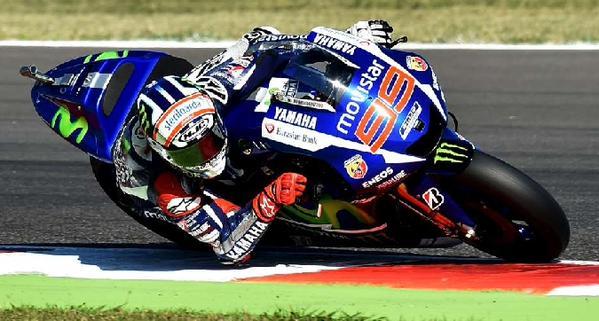 MotoGP San Marino, Lorenzo in pole. Terzo Rossi