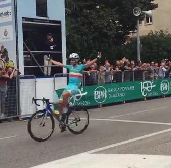 Coppa Bernocchi 2015, colpo da campione di Vincenzo Nibali